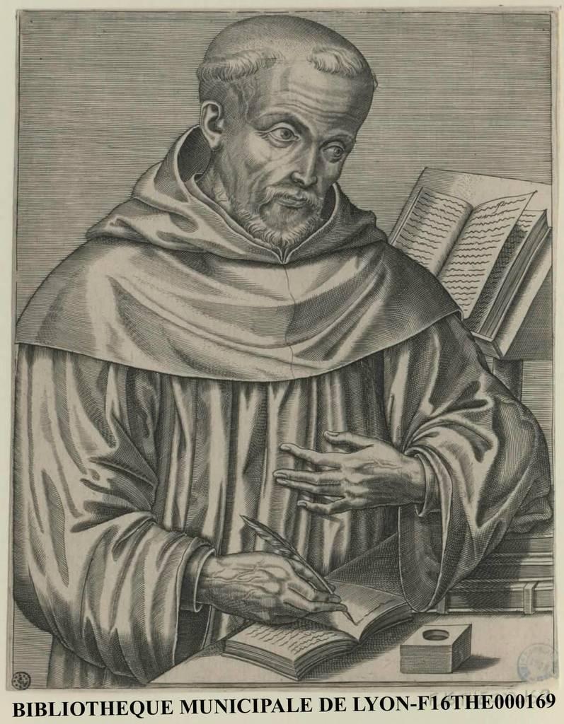 Portrait de Saint Bernard, abbé de Clervaux