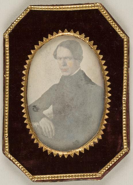 Portrait of priest Frantisek Doucha by Le Pescheur