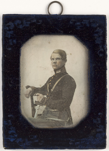 portrait of soldier - officer