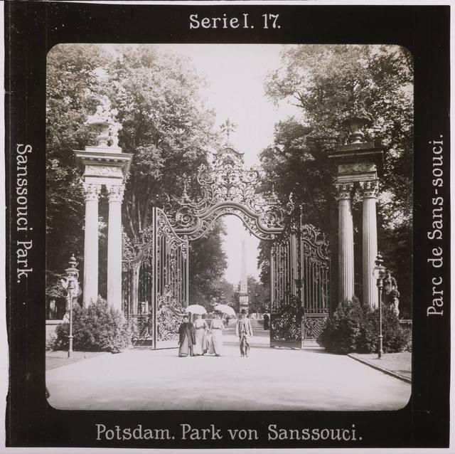 Potsdam. Park von Sanssouci Projection für Alle
