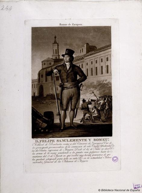 [Retrato de Felipe San Clemente y Romeu]