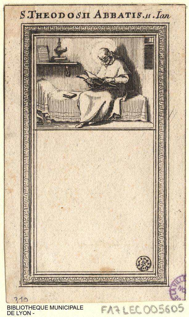Saint Théodose abbé