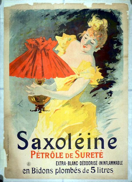 Saxoléine pétrole de sûreté