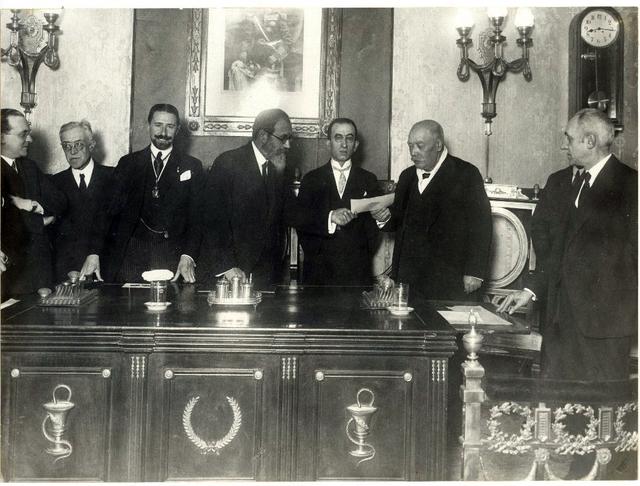 Sesión de aniversario, 21-XI-1929 [Material gráfico]