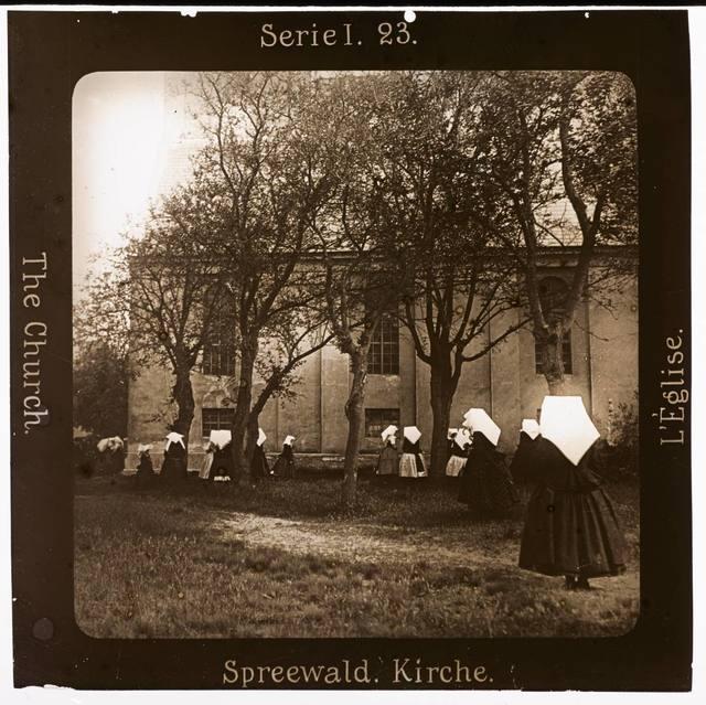 Spreewald. Kirche Projection für Alle