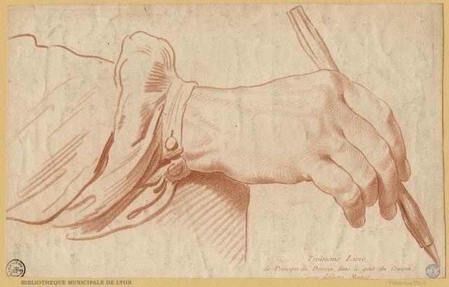 Troisième Livre, de Principes du Dessein, dans le gout du Crayon ; d'apres differens Maitres
