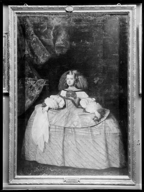 [VELAZQUEZ - 62 - LA INFANTA DOÑA MARIA TERESA DE AUSTRIA, HIJA DE FELIPE IV (MUSEO DEL PRADO).] [Material gráfico]